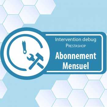 Abonnement intervention prestashop