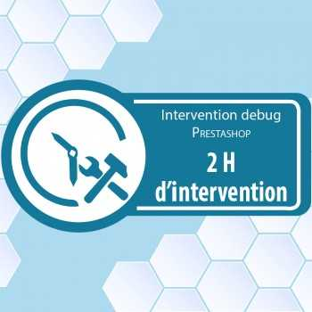 2 heures d'intervention prestashop