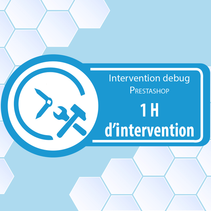intervention 1 heure prestashop